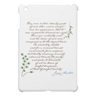 Jane Austen's Pride & Prejudice Quote #1 Cover For The iPad Mini