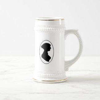 Jane Austen's Silhouette Beer Stein