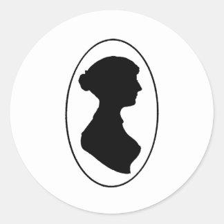 Jane Austen's Silhouette Stickers