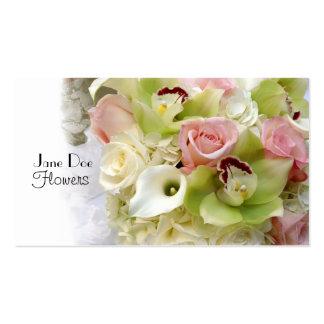 Jane Doe Flowers Business Card