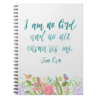 Jane Eyre - I Am No Bird - Notebook