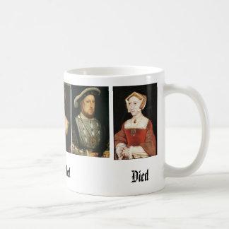 Jane Seymour, Catherine of Aragon, Anne Boleyn,... Basic White Mug