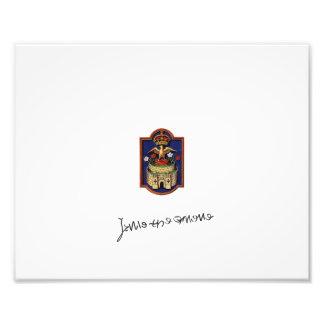 Jane Seymour Phoenix Badge Print Art Photo
