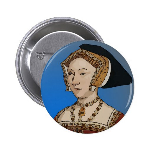 Jane Seymour Queen of Henry VIII Of England Pinback Button