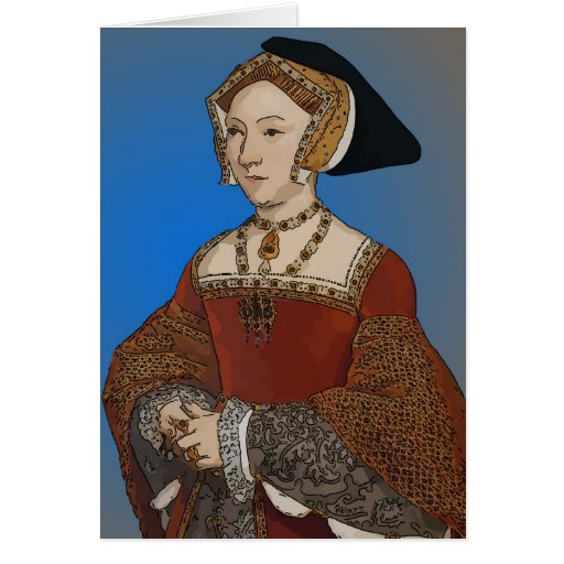 Jane Seymour Queen of Henry VIII Of England Greeting Cards