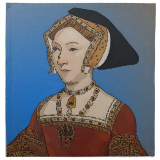 Jane Seymour Queen of Henry VIII Of England Cloth Napkins