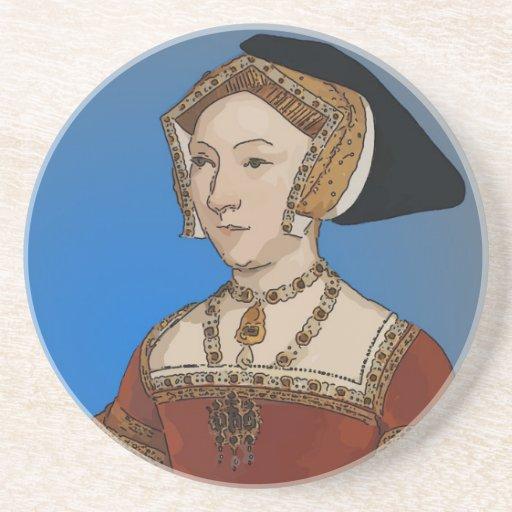 Jane Seymour Queen of Henry VIII Of England Drink Coaster