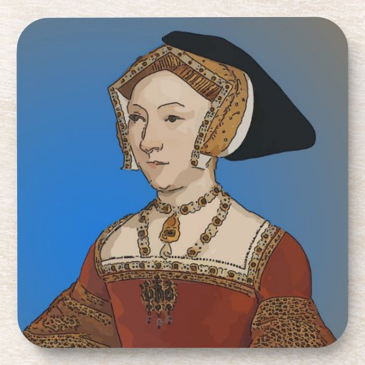 Jane Seymour Queen of Henry VIII Of England Beverage Coaster