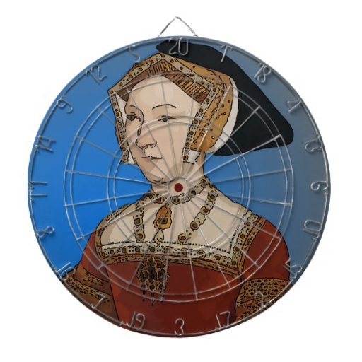 Jane Seymour Queen of Henry VIII Of England Dart Board