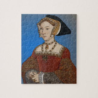 Jane Seymour Queen of Henry VIII Of England Jigsaw Puzzle