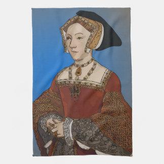 Jane Seymour Queen of Henry VIII Of England Kitchen Towels