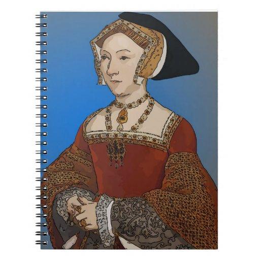 Jane Seymour Queen of Henry VIII Of England Notebook