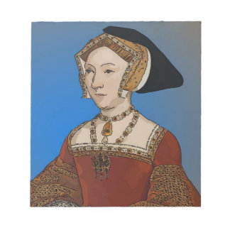 Jane Seymour Queen of Henry VIII Of England Memo Pad