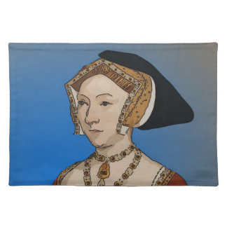 Jane Seymour Queen of Henry VIII Of England Placemat