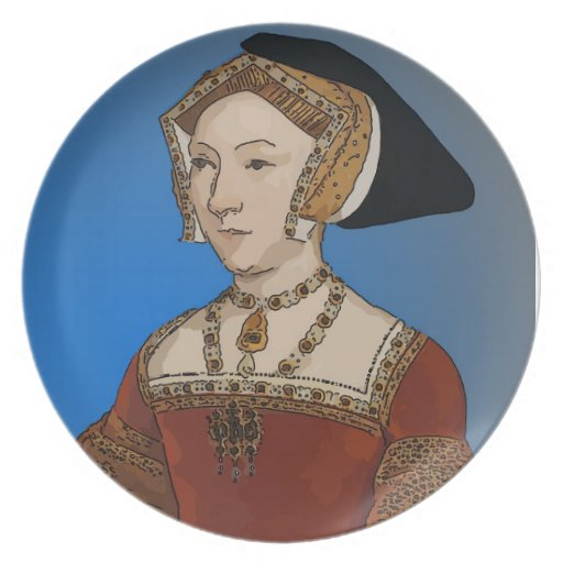 Jane Seymour Queen of Henry VIII Of England Plates