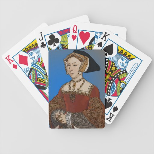 Jane Seymour Queen of Henry VIII Of England Bicycle Playing Cards