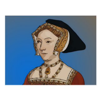 Jane Seymour Queen of Henry VIII Of England Postcard