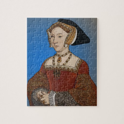 Jane Seymour Queen of Henry VIII Of England Puzzle