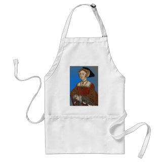 Jane Seymour Queen of Henry VIII Of England Standard Apron