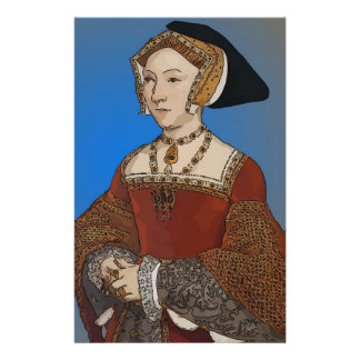 Jane Seymour Queen of Henry VIII Of England Stationery Paper