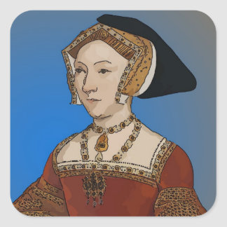 Jane Seymour Queen of Henry VIII Of England Square Sticker