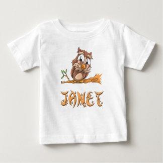 Janet Owl Baby T-Shirt