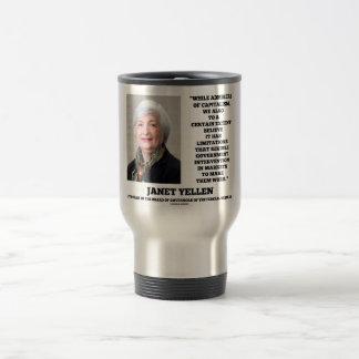 Janet Yellen Admirers Capitalism Govt Intervention Travel Mug