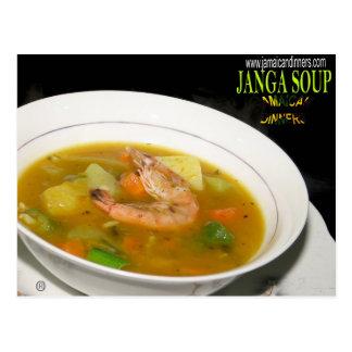 Janga Soup Postcard