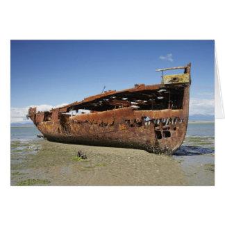 Janie Seddon Shipwreck, Motueka, Nelson Card