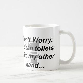Janitor Mug - My other hand
