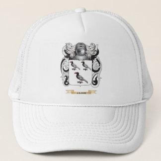 Jann Coat of Arms (Family Crest) Trucker Hat