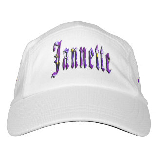 Jannette, Name, Logo, Knit Performance Cap