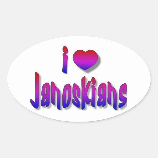 Janoskians stickers