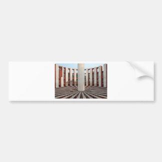 Jantar Mantar, Delhi, India Bumper Sticker