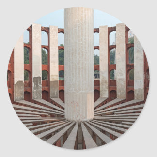 Jantar Mantar, Delhi, India Classic Round Sticker