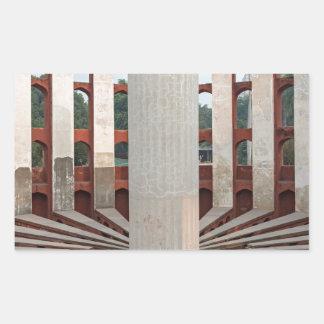 Jantar Mantar, Delhi, India Rectangular Sticker