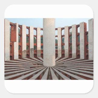 Jantar Mantar, Delhi, India Square Sticker