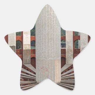 Jantar Mantar, Delhi, India Star Sticker