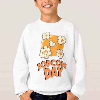 January 19th - Popcorn Day - Appreciation Day Sweatshirt