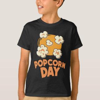 January 19th - Popcorn Day - Appreciation Day T-Shirt