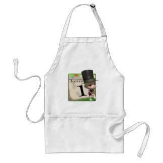 January 1 standard apron