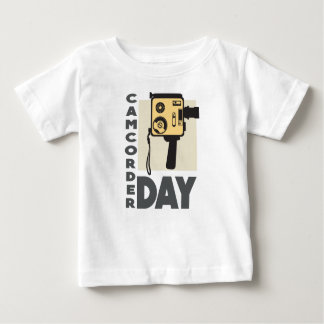 January 20th - Camcorder Day - Appreciation Day Baby T-Shirt