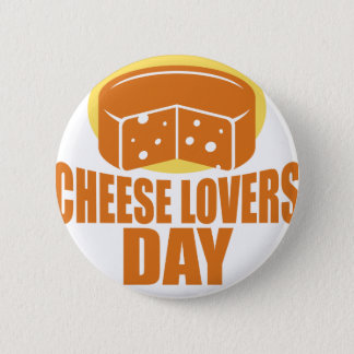 January 20th - Cheese Lovers Day 6 Cm Round Badge