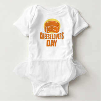 January 20th - Cheese Lovers Day Baby Bodysuit