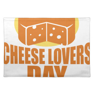 January 20th - Cheese Lovers Day Placemat