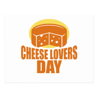 January 20th - Cheese Lovers Day Postcard