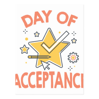 January 20th - Day of Acceptance Postcard