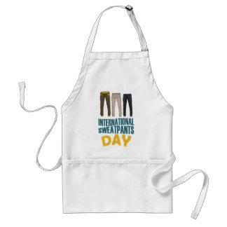 January 21st  - International Sweatpants Day Standard Apron