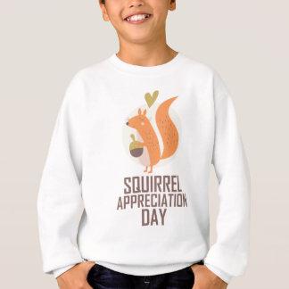 January 21st - Squirrel Appreciation Day Sweatshirt