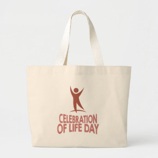 January 22nd - Celebration Of Life Day Large Tote Bag